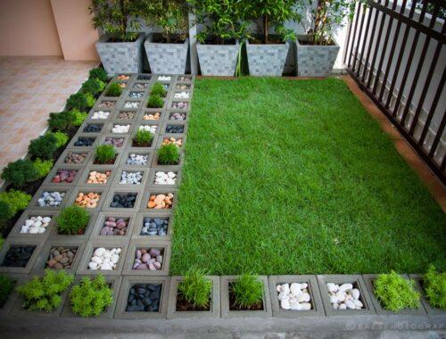 จัดสวนเล็ก ๆ
