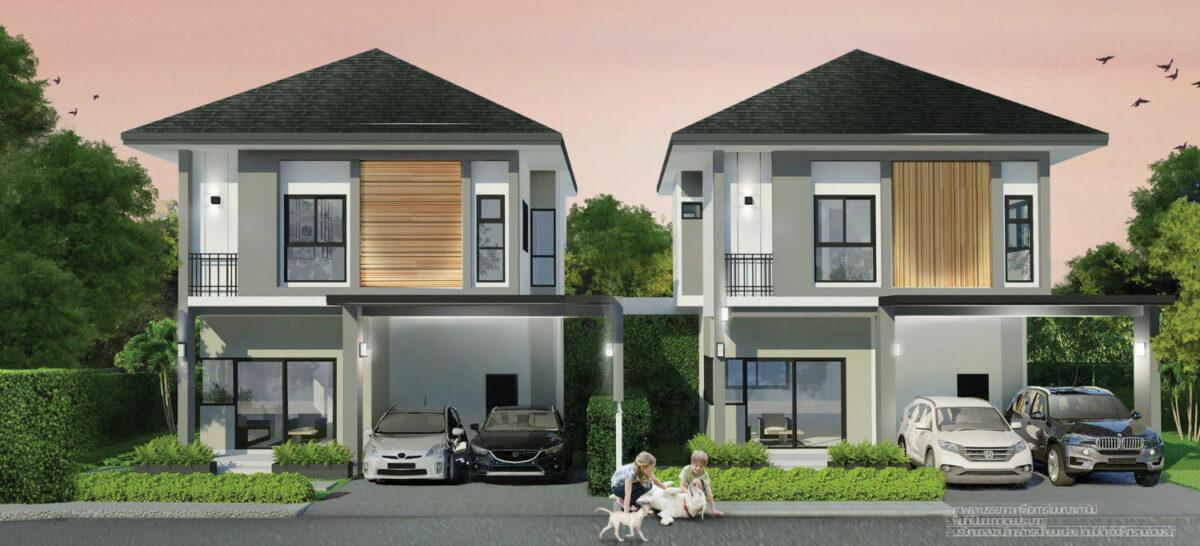 Pleasant twin house plan